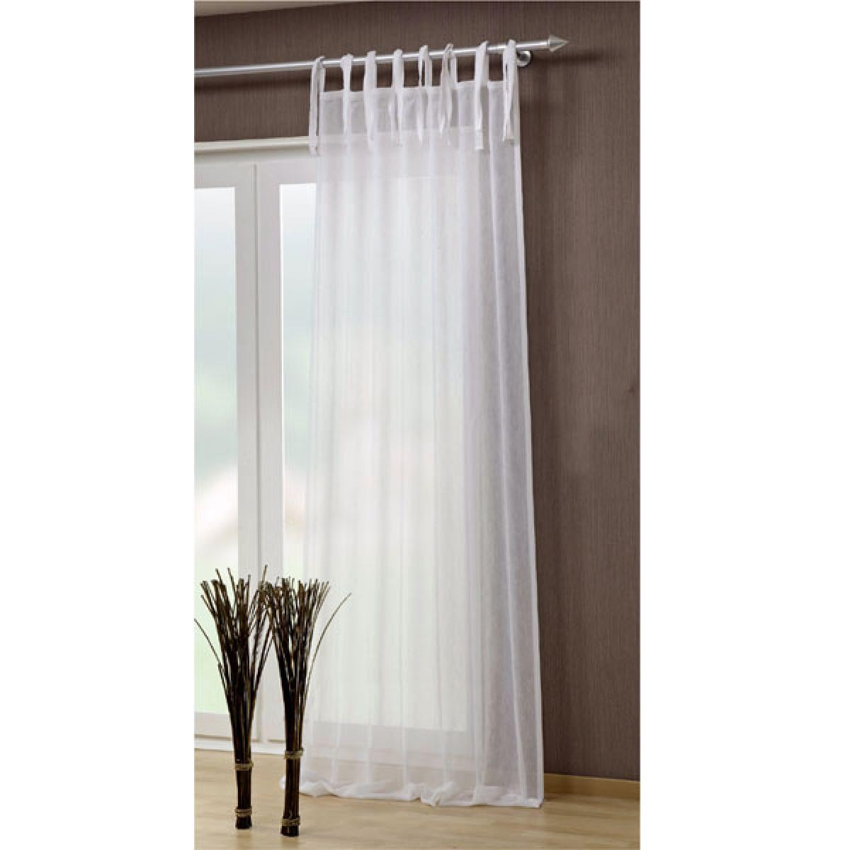 færdigsyede gardiner Færdigsyede gardiner med binde stropper   40441 801   (BxH  færdigsyede gardiner