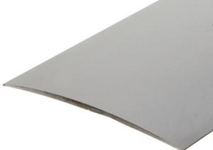 100 mm. Aluprofil - Buet overgang - Mat alu