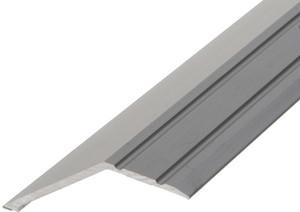 Alu overgangsprofil 18-22 mm m/næb - Mat alu