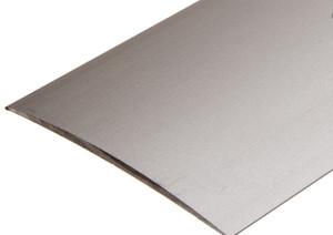 80 mm. Aluprofil - Buet overgang - Mat alu