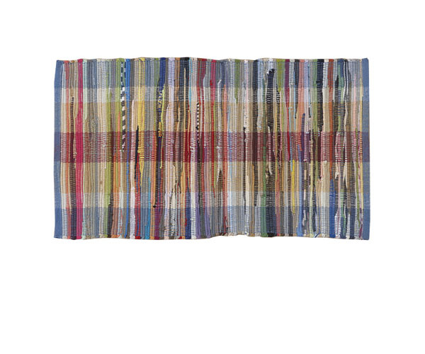 Kludetæppe - 100% Bomuld - Multicolor