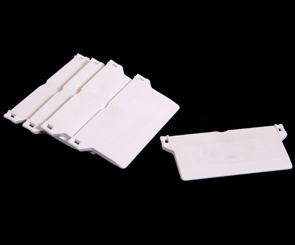 Bundvægte til 89 mm lamelgardin - Hvid