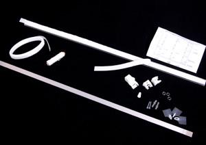 """Liftgardin med snortræk - """"Sy-selv-system"""" (komplet)"""