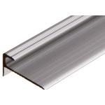 6 mm Trappeafslutning - Mat alu