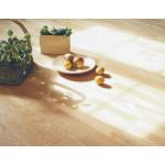 13,5 mm Ask Prima plank hvid mat lakeret - LOC - 1,58 m²/pk