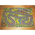 Legetæppe - Racerbane - 100 x 150 cm