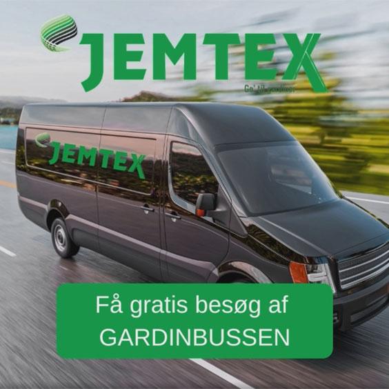 Gardinbus - Få gratis besøg af vores gardinbus