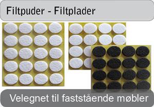 Filtpuder og filtplader