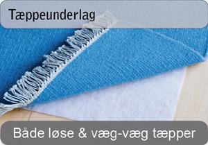 Underlag til tæpper