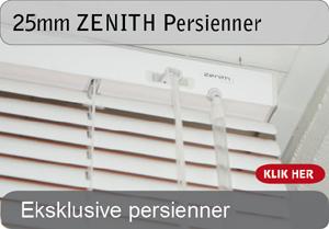 25mm ZENITH persienner