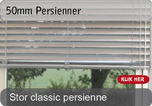 50mm Persienner