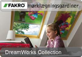 FAKRO mørklægningsgardiner - DreamWorks