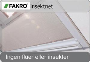 FAKRO insektnet - fluenet