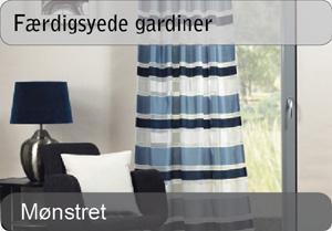 Færdigsyede gardiner - mønstret