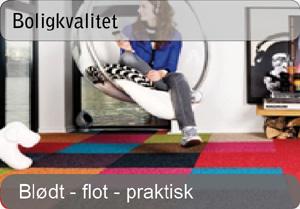 Tæppefliser - Boligkvalitet