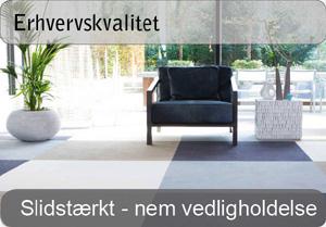 Tæppefliser - Erhvervskvalitet
