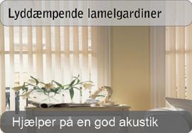 lyddæmpende gardiner Lamelgardiner | Køb elegante lamelgardiner online! lyddæmpende gardiner