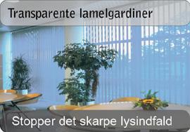 Transparente lamelgardiner