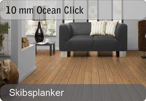10 mm Ocean laminatgulv - skibsplank