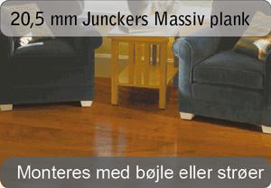 20,5mm JUNCKERS massive planker