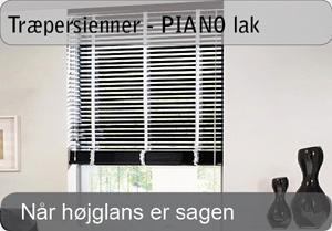 PIANO træpersienner