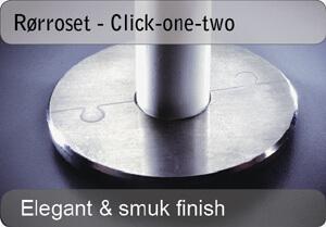 Rørroset - click-one-two