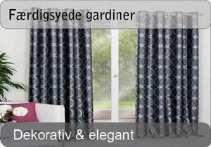 Færdigsyede gardiner